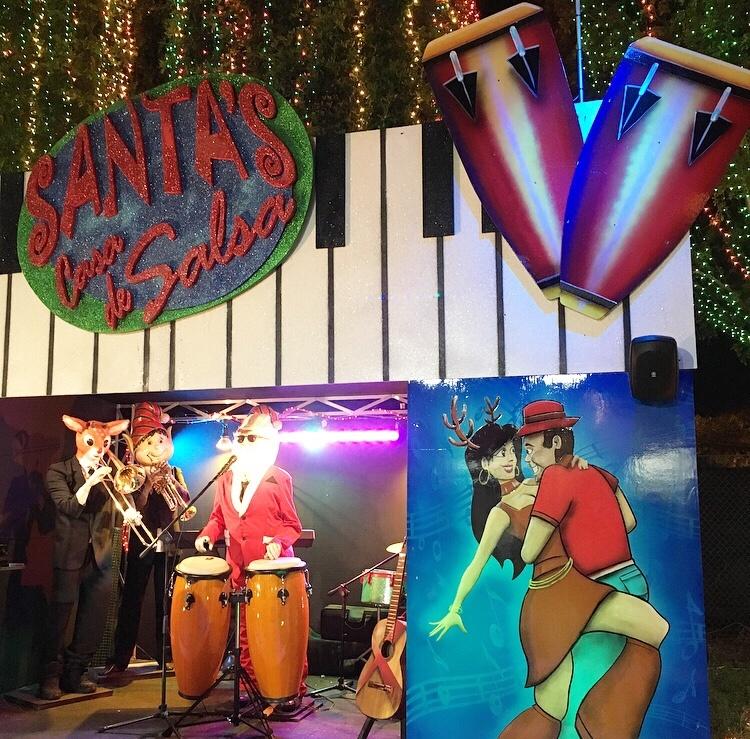Santa's Casa De Salsa