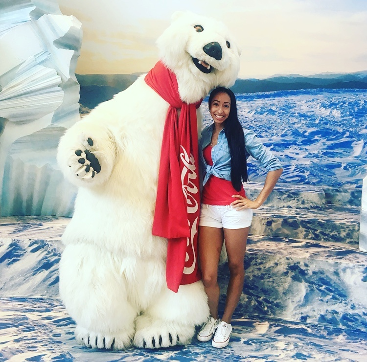 Coca Cola Polar Bear