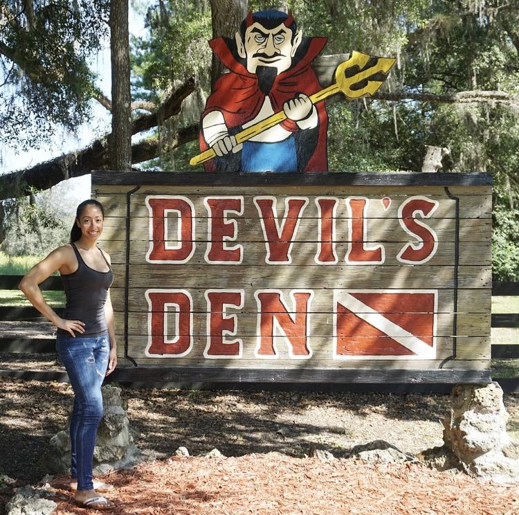 Swimming In The Devil's Den